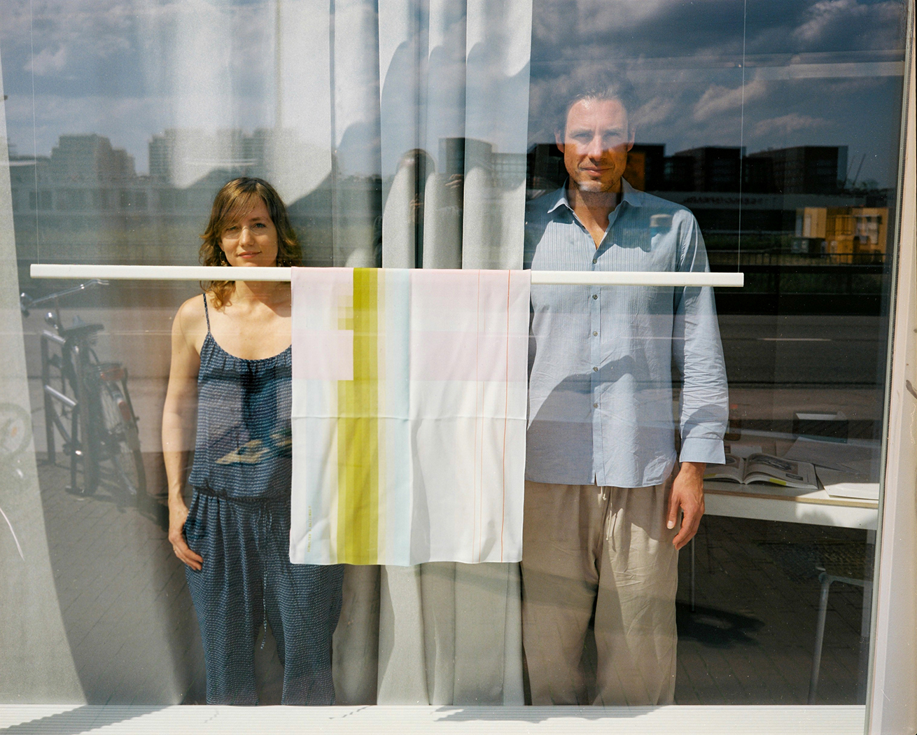 Carole Baijings and Stefan Scholten from Scholten&Baijings. Photo by Boudewijn Bollmann, 2011.